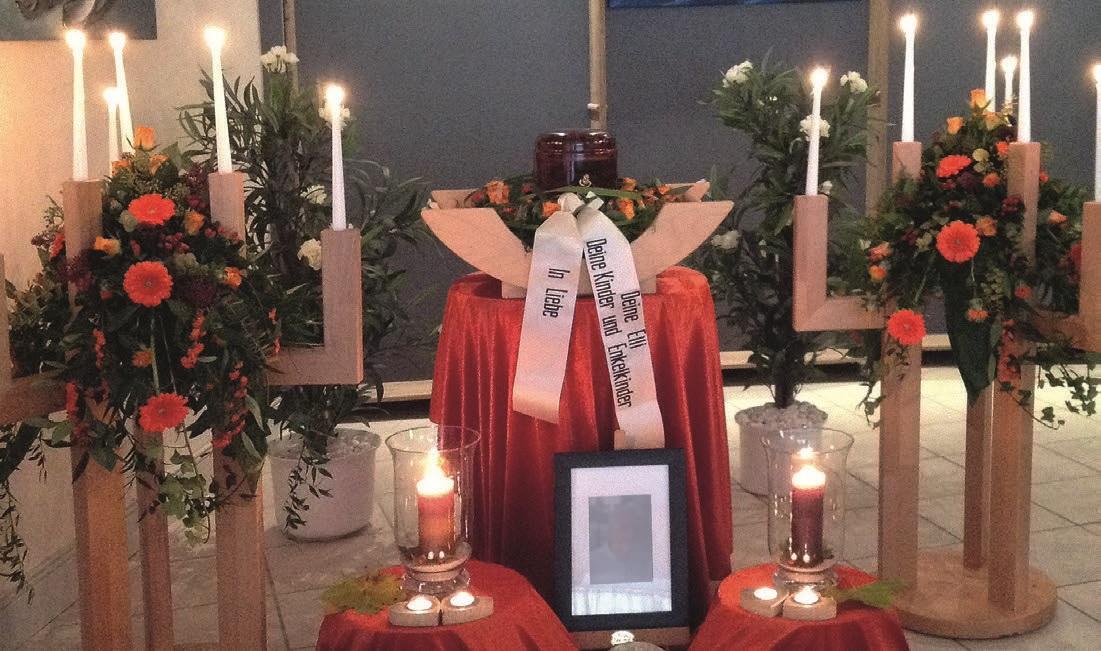 Abschiednahme und Trauerfeier von Ralf König Bestattungen in Plettenberg